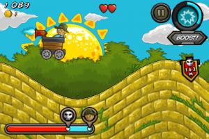 Minecart Chase by Peta Vision screenshot
