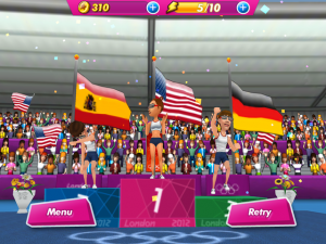 London 2012 - Official Mobile Game by NEOWIZ Internet Corp. screenshot