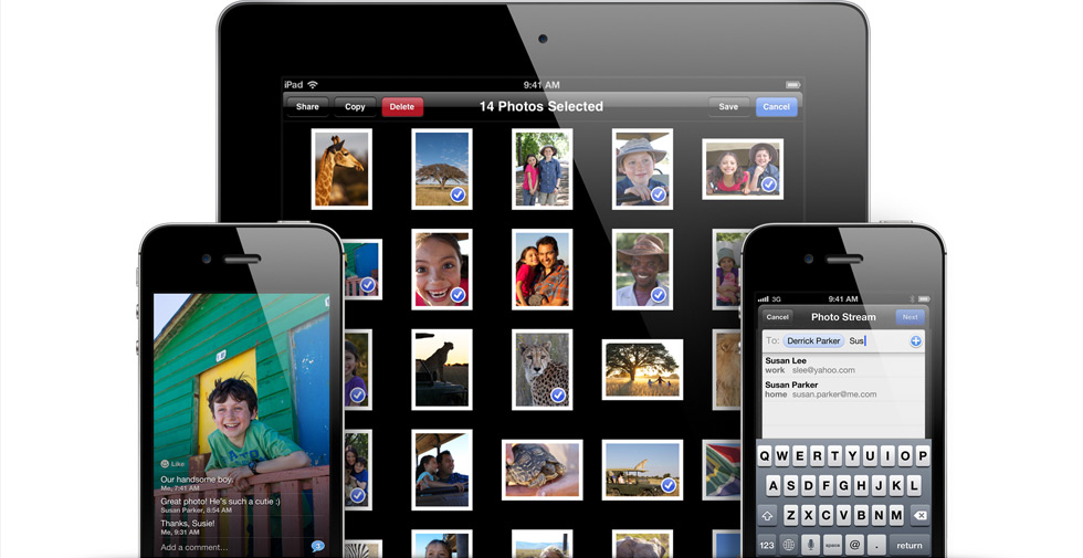 Photo Stream - iOS 6.0 And OS X Mountain Lion