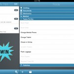 TripList for iPad version 2.0.1 - WIN