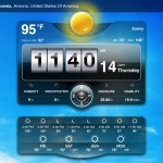 Weather Live version 1.6 (iPad 2) - Main (Landscape)
