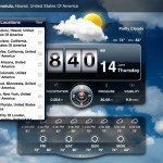 Weather Live version 1.6 (iPad 2) - Location Manager