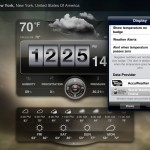 Weather Live version 1.6 (iPad 2) - Settings