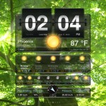 Weather+ version 2.0 (iPad 2) - Main (Landscape)