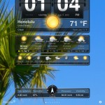 Weather+ version 2.0 (iPad 2) - Location Manager (Portrait)