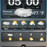 Weather+ version 2.0 (iPhone 4) - Main (Overcast)