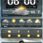 Weather+ version 2.0 (iPhone 4) - Main (Cloudy)