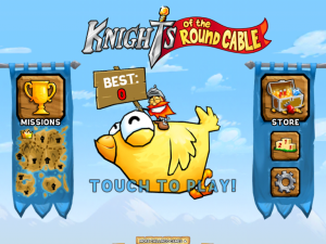 Knights of the Round Cable by Chillingo Ltd screenshot