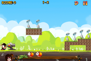 Worm vs Birds by Chillingo Ltd screenshot
