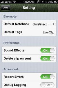 EverClip by Ignition Soft Limited screenshot