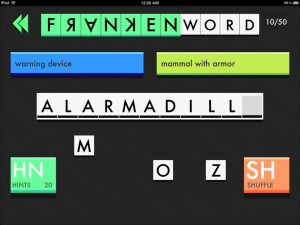Frankenword by Xether Labs screenshot