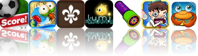 Today's Apps Gone Free: Score! Classic Goals, Jump Out! HD, Classic Notebook And More