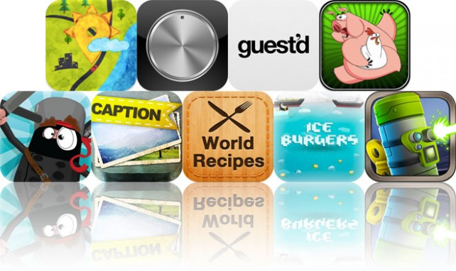 Today's Apps Gone Free: MenuWeather, SilverDial Metronome, Guest'd And More