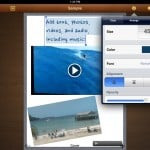 Book Writer version 1.4 (iPad 2) - Media and Text