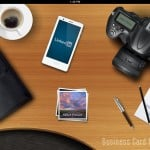 Business Card Reader HD version 2.2 (iPad 2) - Main Menu