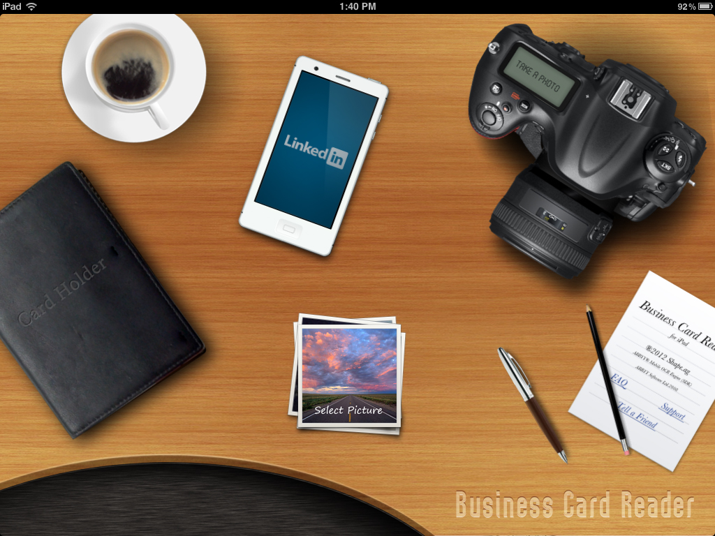 Shape services launches business card reader hd for ipad reheart Gallery