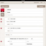 Business Card Reader HD version 2.2 (iPad 2) - Automatic Fill