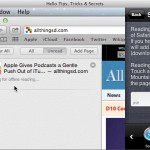 Hello Tips, Tricks and Secrets (OS X) - Shift Click to Reading List