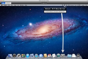 Hello Tutorials for Mac version 3.0 - Menu Bar Items (Wi-Fi)