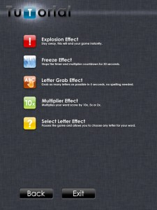 Letricel (iPad 2) - Effect Tiles