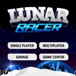 Lunar Racer version 1.1 (iPad 2) - Main Menu