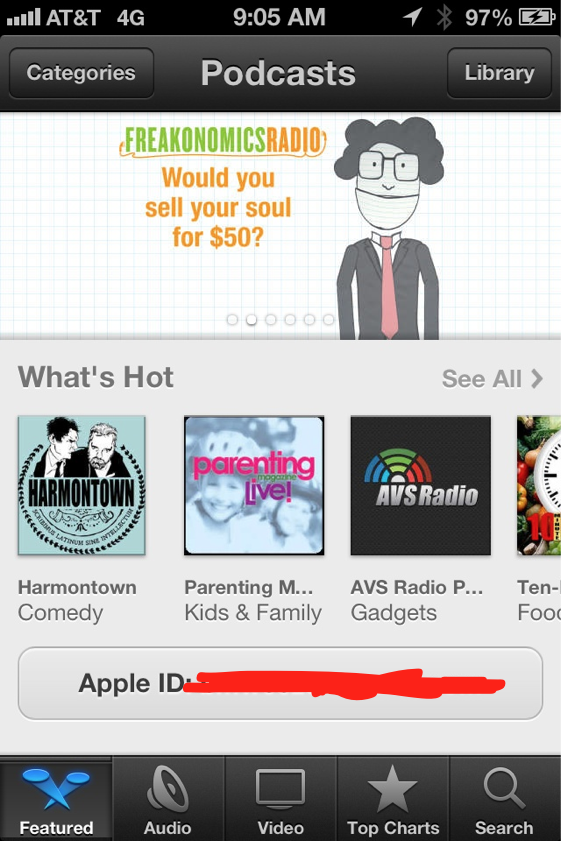 Podcasts, iOS 6 beta 3