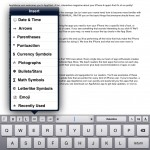 RichText Edit (iPad 2) - Insert