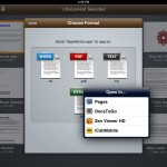 RichText Edit (iPad 2) - Export and Share