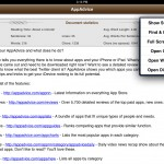 RichText Edit version 1.1 (iPad 2) - Tools Menu and Statistics