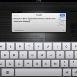 Sleipnir Mobile version 2.0 (iPad 2) - Twitter