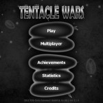Tentacle Wars (iPhone 4) - Main Menu