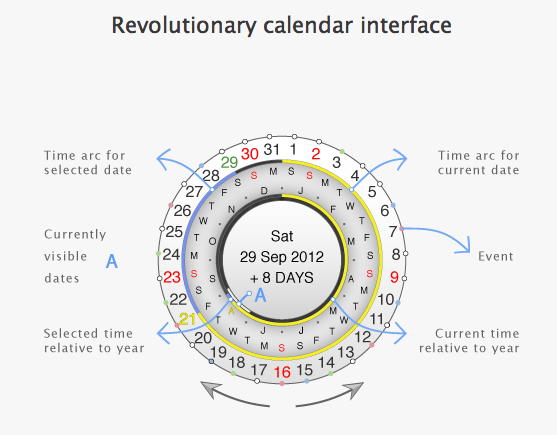 CircleTime - Calendar interface