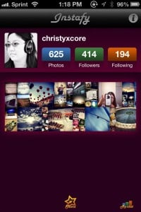 Instafy - Stats for Instagram by Kentdome LLC screenshot