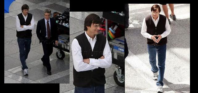 Ashton Kutcher zachycen jako starší Steve Jobs
