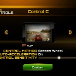 Asphalt 7: Heat version 1.0.1 (iPad 2) - Control Schemes