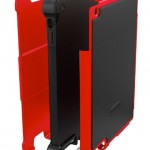 Ballistic Tough Jacket (iPad 2) - Components (Red)