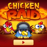 Chicken Raid (iPhone 4) - Main Menu