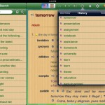 English-Spanish Unabridged Dictionary version 2.4 (iPad 2) - History