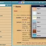 English-Spanish Unabridged Dictionary version 2.4 (iPad 2) - Themes