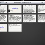 Index Card version 3.2 (iPad 2) - Stack / Gallery View (Dark Theme)