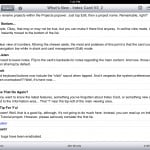 Index Card version 3.2 (iPad 2) - Outline View