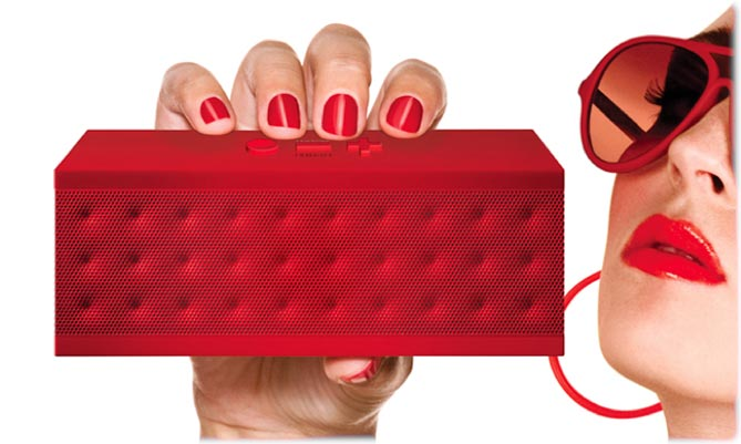 JAMBOX in red