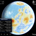 Living Earth HD version 2.0 (iPad 2) - Tropical Activity and Wind Map