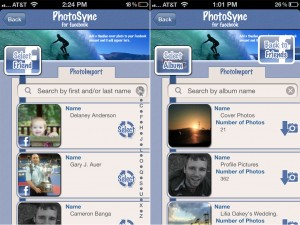 PhotoSync for Facebook version 2.2.2 - Downloading
