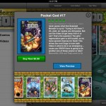 Pocket God Comics version 2.0.5 (iPad 2) - Store (Pocket God Issue 17)