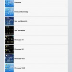 PocketWeather version 4.0 (iPad) - Views Themes