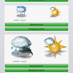 PocketWeather version 4.0 (iPad) - WeatherIcons
