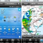 PocketWeather version 4.0 (iPhone) - Views and Maps