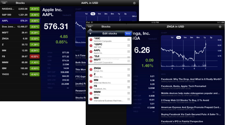 Stock Market HD For iPad Now Comes Without Those Pesky Ads ...