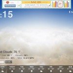 Weather HD 2 Free version 2.0.1 (iPad 2) - Classic Mode (Daily Forecast)